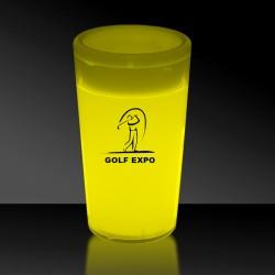 Yellow 2 Ounce Glow Shot Glass