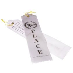 3rd Place White Ribbon