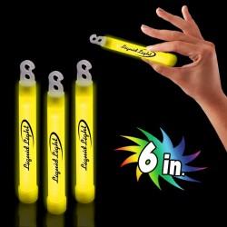 """Yellow 6"""" Glow Sticks"""