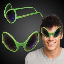 Green Alien Sunglasses