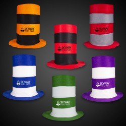 Assorted Color Stove Top Hats