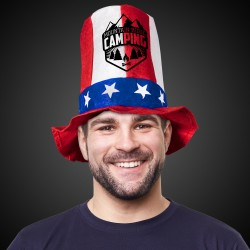 Patriotic Stove Top Hat