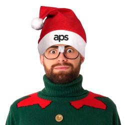 Red Felt Santa Claus Hat