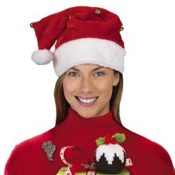 Santa Hat with Bells