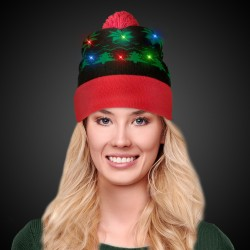 Holiday LED Knit Hat