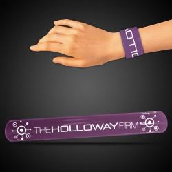 "8 3/4"" Purple Slap Bracelets"