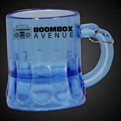 Mini Blue Beer Mug Medallion