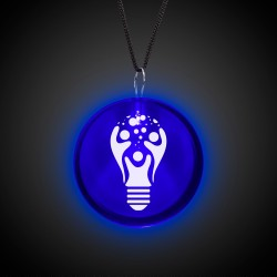 Blue Lighted Badges with J - Hook