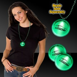 Green Lighted Badges with J - Hook