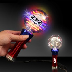 Light Up Spinner Wand - 7 1/2""