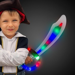 "24"" Light Up Sound Activated Pirate Sword"