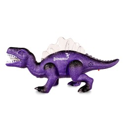 Purple LED Walking Dinosaur