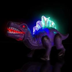 Purple LED Walking Dinosaur