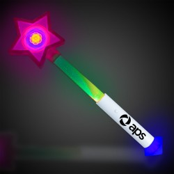 Prism Star LED Wand with Strobe