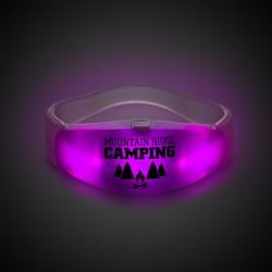 Pink LED Stretchy Bangle Bracelets