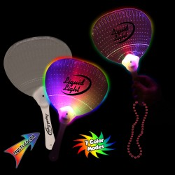 Led Hand Fan with J- Hook