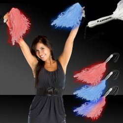 LED Pom Poms -Variety of Colors