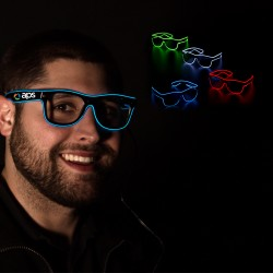 LED EL Sunglasses - Variety of Colors