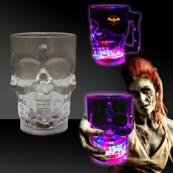 14 oz Light Up Skull Cup