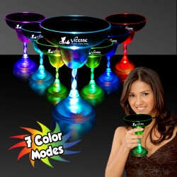 Light Up 10 1/2 Ounce Margarita Glass