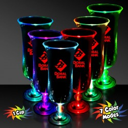 Light Up Hurricane Glass