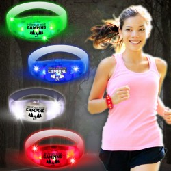 Sound Activated LED Stretchy Bangle Bracelet