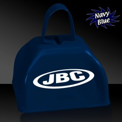 "3"" Navy Blue Metal Cowbells"