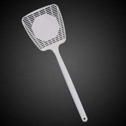 """White 16"""" Fly Swatters"""