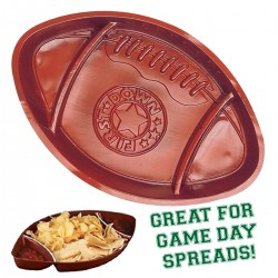 Football Sectional Snack Tray