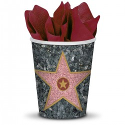 Walk of Fame 9 Oz Cups - 8 Pack