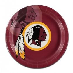 "Washington Redskins 9"" Plates - 8 Pack"