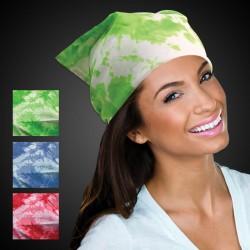 "Tie Dye Bandanas - 19"" - Assorted Colors"